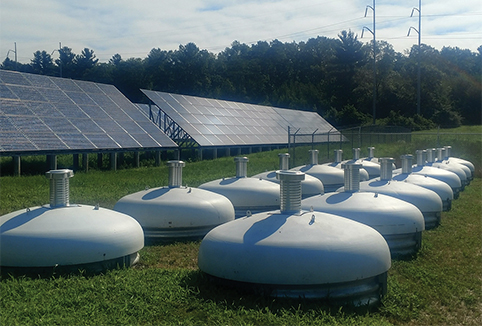Kinetic energy storage systems (KESS)